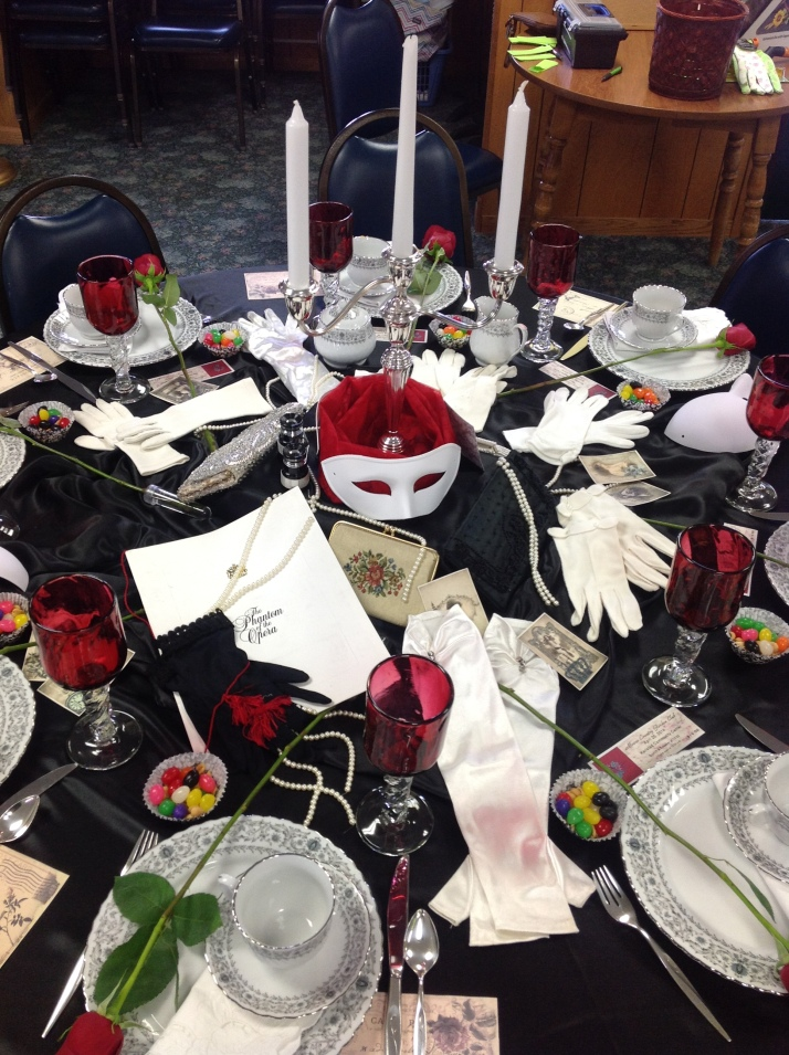 Diy Phantom Of The Opera Themed Tea Party Nwminnesotamo